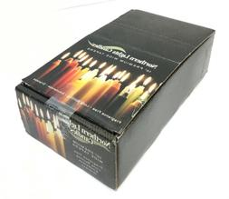 """Northern Lights Candles 10"""" Premium Wide Tapers, 15 Pcs Ca"""