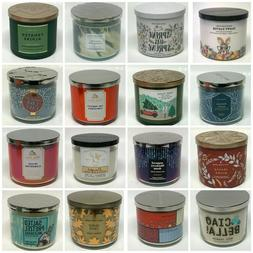 Bath & Body Works 3-Wick Candles << CHOOSE >> 50+ Scents!