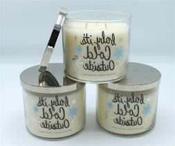 Bath & Body Works Fireside Large Three Wick Jar Candle 14.5