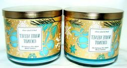 Bath & Body Works White Velvet Coconut 3 Wick Scented Candle