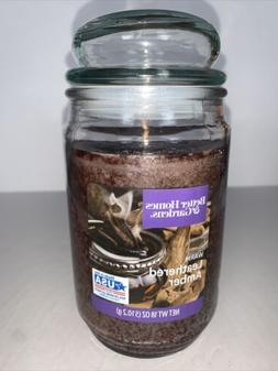 Better Homes & Gardens WARM LEATHERED AMBER Single-Wick 18 o