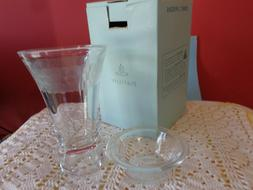 """PartyLite Clarity 5"""" Taper/Tealight holder"""