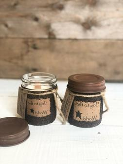 Crackling Wooden Wick Pure Soy Candles in a Specialty Coffee