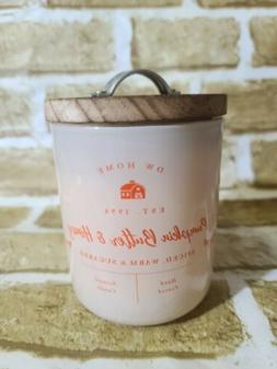 DW Home Farmhouse PUMPKIN BUTTER & HONEY Scented Candle 1-Wi