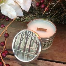 Fireside Wood Wick Soy Candle