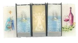 Flatyz Candles Stands 2 Wick Art Handmade Decor Flat Driples