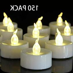 Luminara Flickering Moving Wick Flameless Candle Set with Re