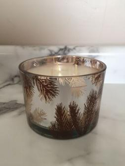 THYMES FRASIER FIR HOME FRAGRANCE 3 WICK CANDLE~WHITE~ 12.5