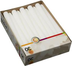 Household Long White Taper Candles 10 Inch Burning Dripless