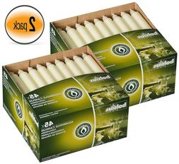 ivory taper candle set of 90 nice