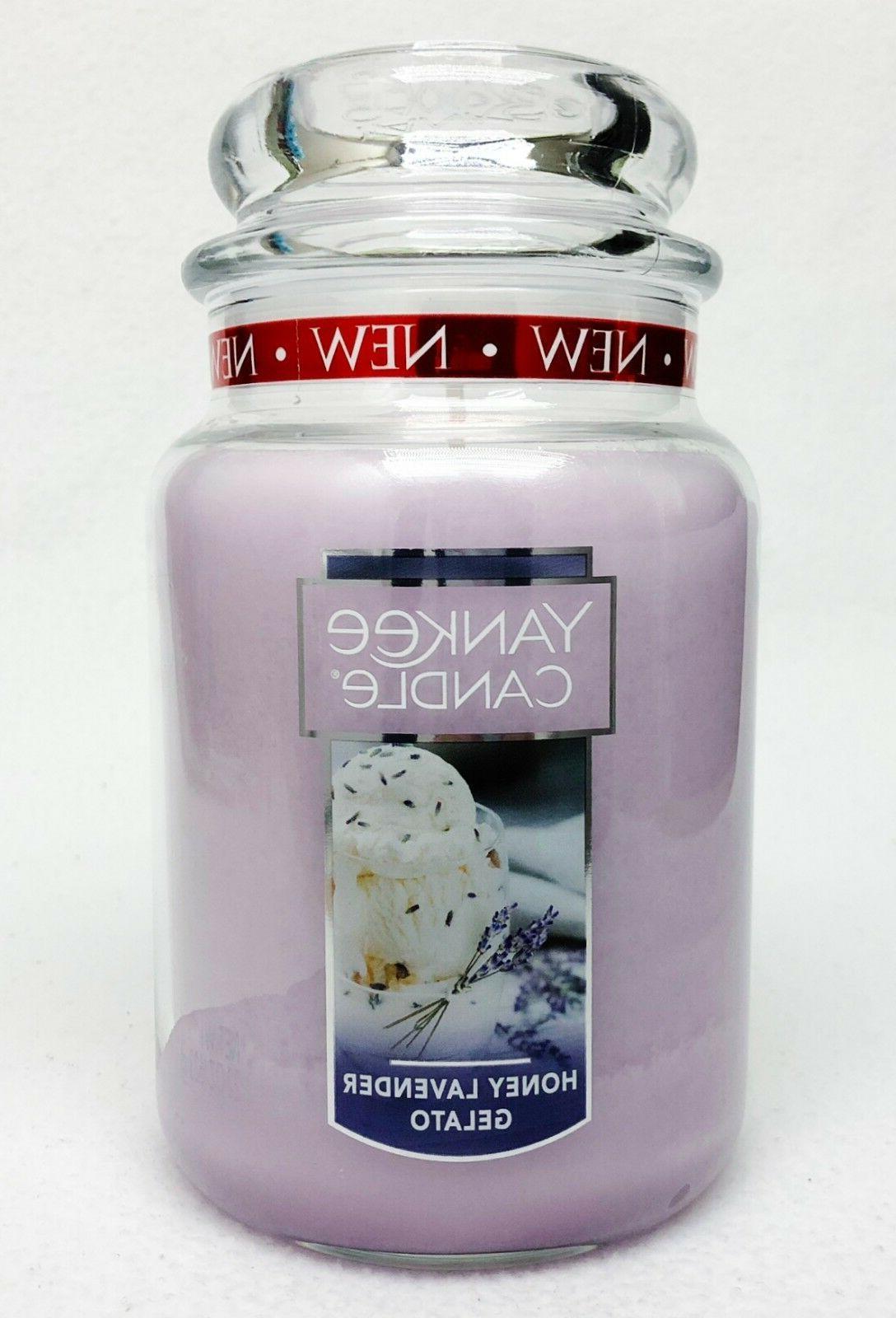 1 honey lavender gelato large 1 wick