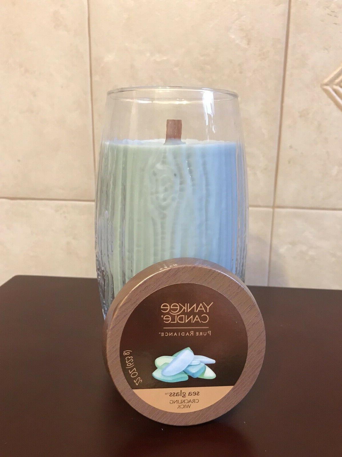 new sea glass pure radiance crackling wood