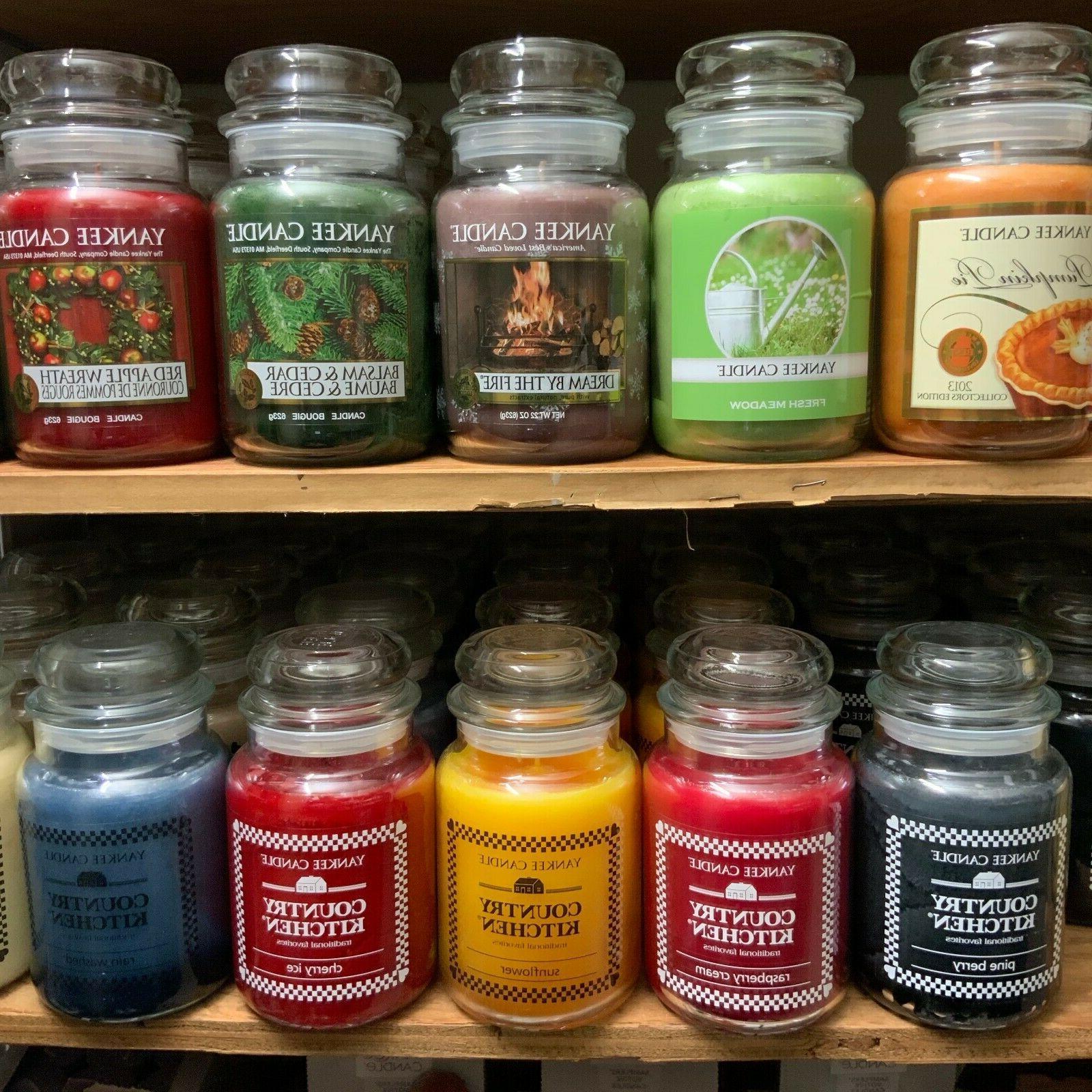 original classic large jar single wick scented