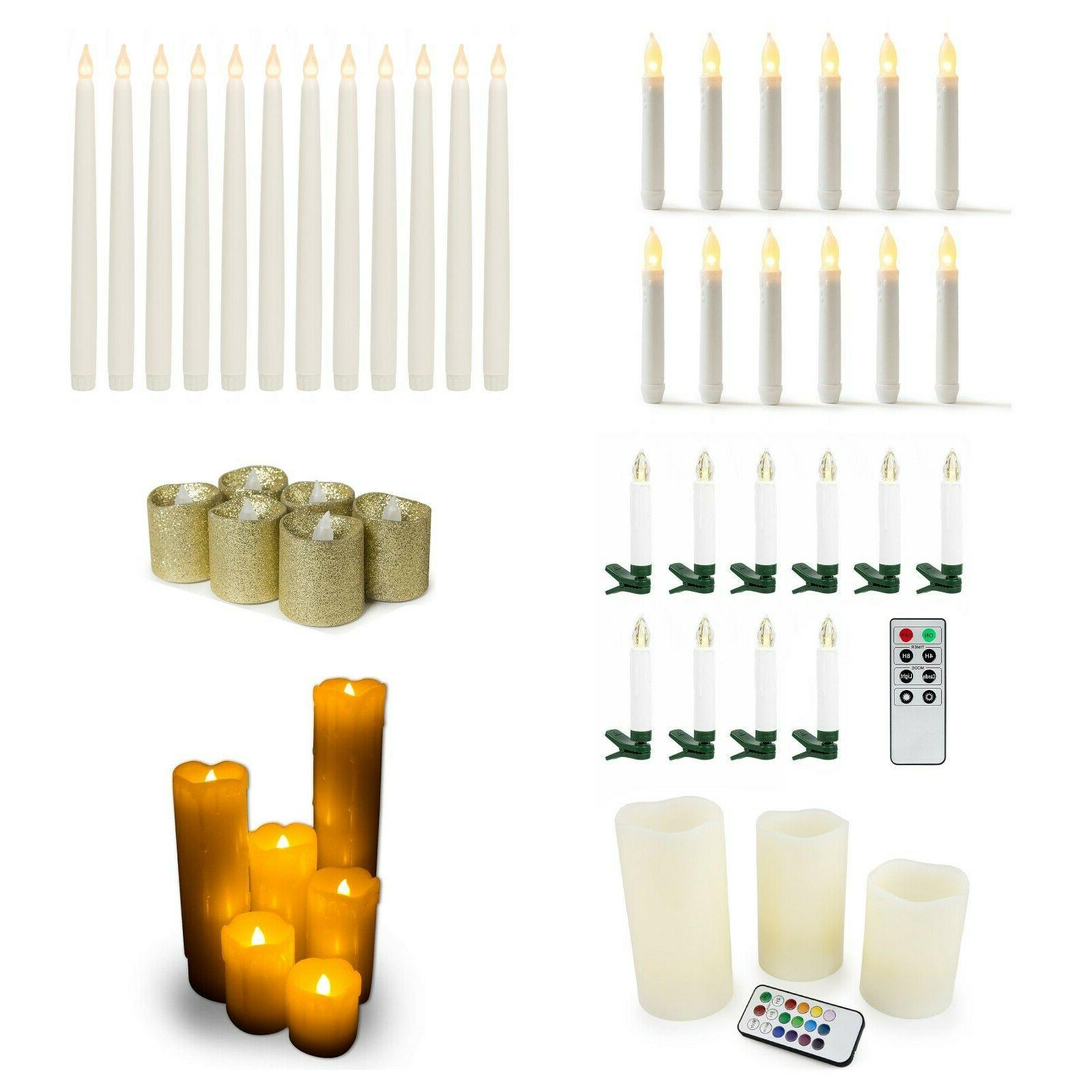 warm white battery operated flameless led candles
