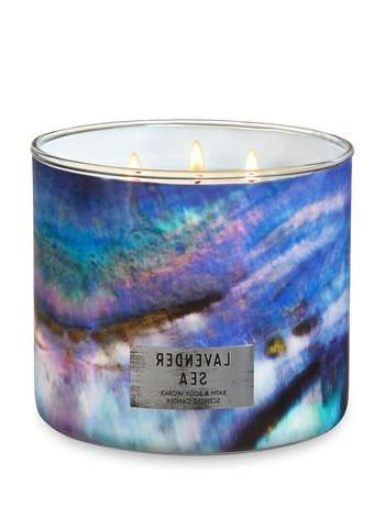 white barn 3 wick candle