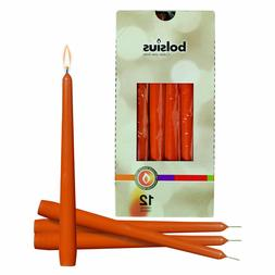 mango 10 colored tapered unscented candles 7