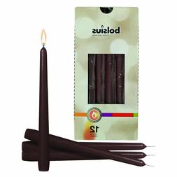 """Maroon 10"""" Tall Taper Unscented Table Candles for Wedding Sp"""