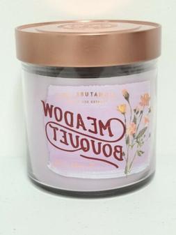 Signature Soy Meadow Bouquet Lavendar Colored Candle Double