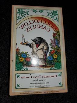 Mole Hollow 12 Taper Candles Handmade 8 INCH HUNTER GREEN Sm