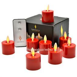 Luminara Moving Wick Battery Operated LED Tea Light Candles