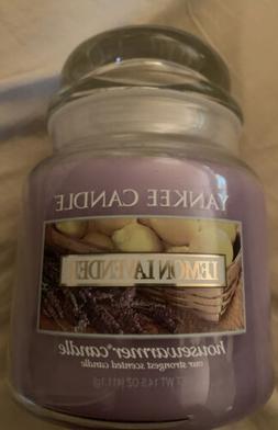 New 14.5 oz LEMON LAVENDER Yankee Candle Long Burning Retire