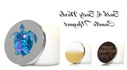 New Bath & Body Works-Large Round 3-Wick Candle Lid Magnet D