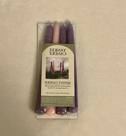 """New Sealed In Package Yankee Candle Pack Of Four 8"""" Advent"""