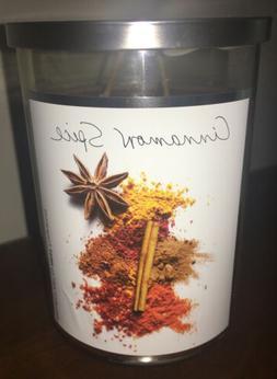 Project Art by NEST Laura Slatkin ~ Cinnamon Spice ~ 2 Wick