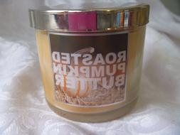 Roasted Pumpkin Butter Slatkin & Co Candle 4 oz 1 wick Bath